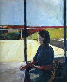 Woman in Profile  - Richard Diebenkorn