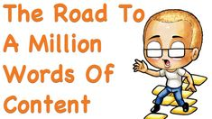 Contact via @theshaunmarrs on Instagram if required The Road To A Million Words Of Content - Part 1!