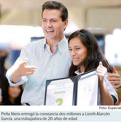 EPN destaca la creación de más de 2 millones de empleos | EPN destaca la creación de más de 2 millones de empleos