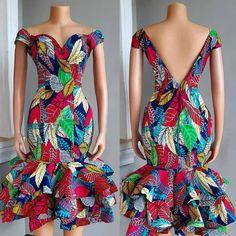African Clothing/ Ankara Dress/ Ankara Print /Ankara Print Peplum Dress – My World African Fashion Ankara, Latest African Fashion Dresses, African Print Fashion, Africa Fashion, African Style, African Print Dress Designs, African Print Clothing, African Prints, African Fabric