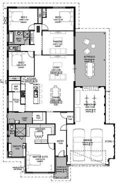 House Layout Plans, Ranch House Plans, Best House Plans, Dream House Plans, Small House Plans, House Layouts, House Floor Plans, House Construction Plan, Basement House Plans