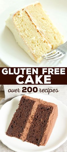 Over 200 gluten free cake recipes. No matter how health-conscious you are, sometimes you just need cake! Everything from red velvet and one bowl chocolate cakes to the best moist and tender vanilla cake of your life—it's all here.