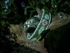 Grün-Halsband+Armband