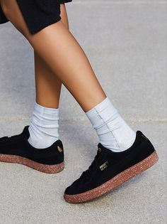 Suede x Careaux Sneaker from Free People!