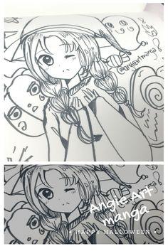 Draw this again : 2013 VS 2017 Kawaii Girl Drawings, My Drawings, Manga Girl, Cute, Anime, Kawaii, Anime Shows