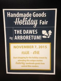 Events offer chance to pick up handcrafted gift items.