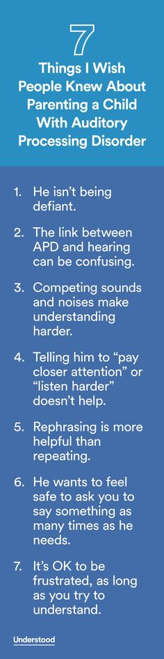 The link between auditory processing disorder and hearing can be confusing.