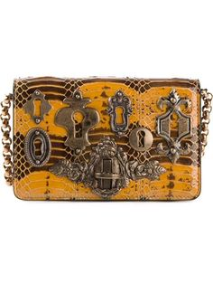 Shop Dolce  amp  Gabbana  Ginerva  clutch in Parisi from the world s best  independent efe302b86d61a