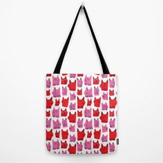 Love Cats! Tote Bag by Amy Walters.