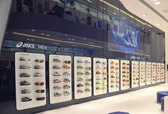 Asics Flagship Store - Oscar Freire/SP. Um verdadeiro parque de diversões!
