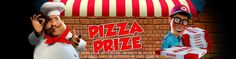 Get a sumptuous meal of tasty pizzas at our slot game, Pizza Prize! Form the Pizza now with all the ingredients provided to you from delivery boy to so usages to Pizza dough and more! Capture your imagination now at Pizza Prize! http://www.topslotsite.com/games/pizza-prize/