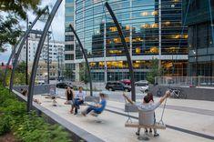 Triangle Plaza, Denver, Colorado #landscapearchitectureplaza