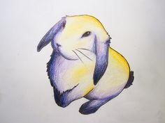Original Bunny Tattoo Design by MegolaTheGreat on DeviantArt Bunny Tattoos, Rabbit Tattoos, New Tattoos, Small Tattoos, I Tattoo, Hase Tattoos, Fox And Rabbit, Rabbit Illustration, Original Tattoos