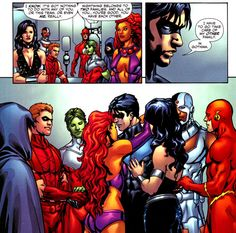 It's time Dick Grayson got the hug instead of giving them.