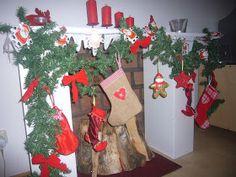 Wonnie's little ideas: Mein Adventskalender***DIY Kamin***