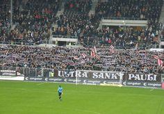 Süd tribune. FC St. Pauli