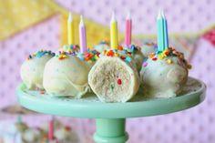 Golden Birthday Cake Oreo Truffles