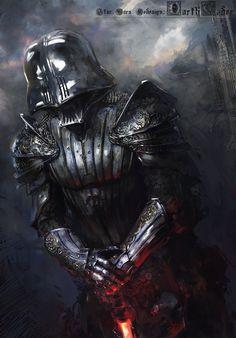 Darth Vader Medieval, klaus wittmann on ArtStation at http://www.artstation.com/artwork/darth-vader-medieval