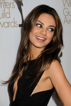 Mila Kunis - love the dress cut!