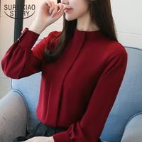 chiffon blouse plus size ladies tops shirts Solid Short O-Neck Batwing – Benovafashion Korean Blouse, Clothes Stand, Stylish Shirts, Style Casual, Summer Blouses, Blouse Designs, Blouses For Women, Shirt Style, Collection