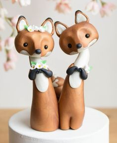 """4"""" fox clay toppers"""