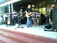 "Six Gun @ Smithtown United Methodist Church 9-19-15 performing, ""Bare Foot Blue Jean Night"", by Jake Owen"