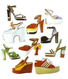 FIORUCCI SHOES - i love this brand, so hard to find any images of theres!! this is amazing