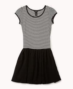 Striped Combo Dress | FOREVER21 Who is rocking stripes today?