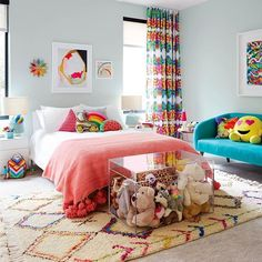 round out a To round out a week filled with sharing another feature that brightened our HGTV kid's room belongs to a pre. - -To round out a week filled with sharing another feature that brightened our HGTV kid's room belongs to a pre. Colorful Bedroom Decor, Room Design, Kids Room Design, Bedroom Design, Room Inspiration, Bedroom Inspirations, Bedroom Colors, New Room, Kid Room Decor