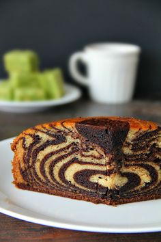 chocolate and vanilla zebra cake (eggless) unbelievably easy. recipe and tons of tips for beautiful results