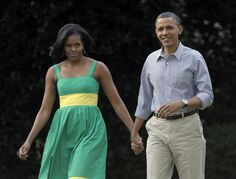 President Barack Obama and first lady Michelle Obama arrive at the Congressional picnic on the South Lawn of the White House in Washington, Wednesday, June (via Photo from AP Photo) Michelle Obama, Dc Police, Police Officer, 2012 Election, Voter Id, Barack Obama, We The People, Investigations, New Books