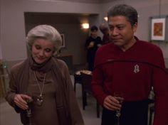 Admiral Janeway and Captain Kim - Endgame