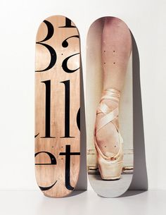 BALLET SKATE DECKS and other skate decks! I want to have them in my shop, longboarding is the next thing!