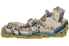Medieval castle - by Claudio Prati