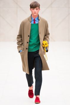 bright red fashion for men 2014 | ... of bright colors that touched upon blue green yellow red and more