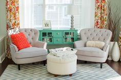 Sea Salt by Sherwin-Williams  House of Turquoise: Katelyn James Photography