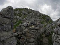 Pal Piccolo Alpi Carniche - trincea versante italiano
