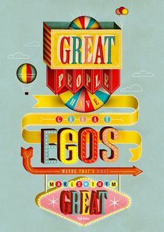 Paul Arden #typography