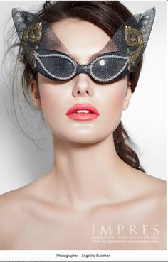 0d36b2b0779e Mercura NYC Veiled Pearl   Curlicue Cat Sunglasses photo by Angelika  Buettner 201