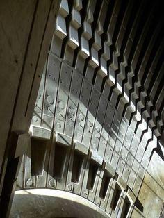 Sydney Opera House (detail), Sydney. Year: 1973; Architect: Jorn Utzon.