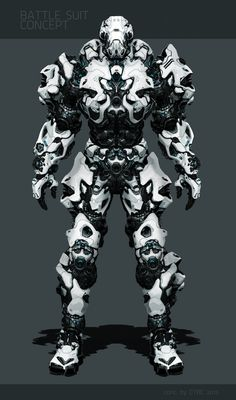 BATTLE SUIT CONC. on Behance