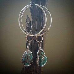 Turquoise Earrings Handmade Magical Jewelry by WildEarthAustralia