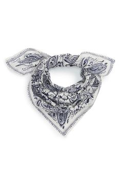 Echo Paisley Bandana ($29) | 28 Stylish Pieces to Make You Best Dressed at the BBQ | POPSUGAR Fashion