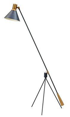 A Gilbert Watrous floor lamp, by Heifetz Mfg, Crystal Lights, Mid Century Decor, Mid Century Style, Bauhaus, Chandeliers, Art Nouveau, Mid Century Modern Lighting, I Love Lamp, Modern Floor Lamps