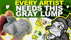 The BEST CHEAP ERASER that you NEED! | Srsly I love this thing. | DrawingWiffWaffles - YouTube