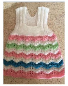 HUZUR SOKAĞI (Yaşamaya Değer Hobiler) Knit Baby Dress, Baby Cardigan, Freeform Crochet, Knit Crochet, Diy Crafts Knitting, Kurti Embroidery Design, Baby Sweaters, Baby Knitting Patterns, Pretty Dresses