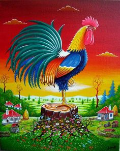 """Good Morning!   (no words - """"Rooster"""")"""