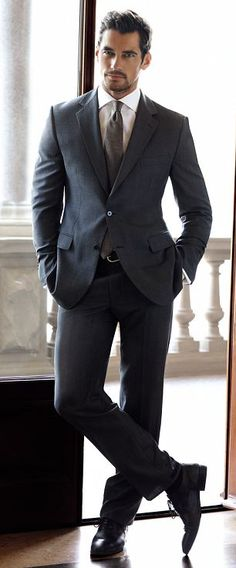 Get dressed with David Gandy this winter: Our favourite male model is suited and booted in the latest Italian-inspired M menswear pictures | Mail Online