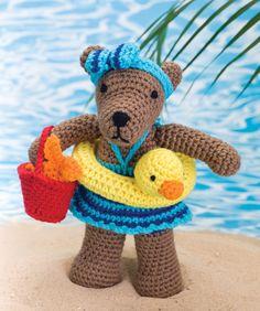 Beach Bear Rita Designed By Michele Wilcox - free pattern