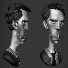 3D Sketch - Time Lapse, Rodrigo Gonçalves on ArtStation at https://www.artstation.com/artwork/QJl63